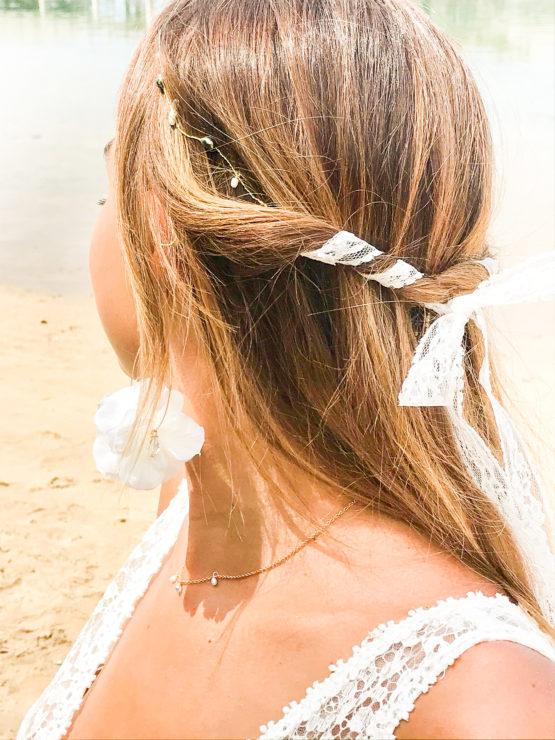 couronne HEIPOE Manahei Creations bijoux Tahiti keishi